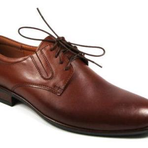 527d2a59c34c Pánske hnedé spoločenské kožené topánky-Obuv Carmen