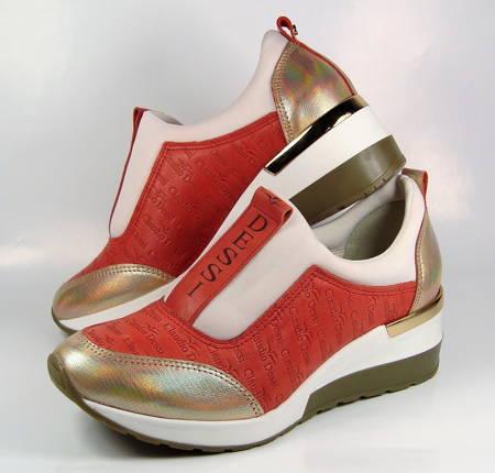 852908627b10 Claudio Dessi-tehlovo zlaté športové topánky-Obuv Carmen