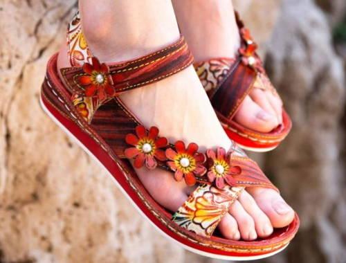 Dámska letná obuv-nízke